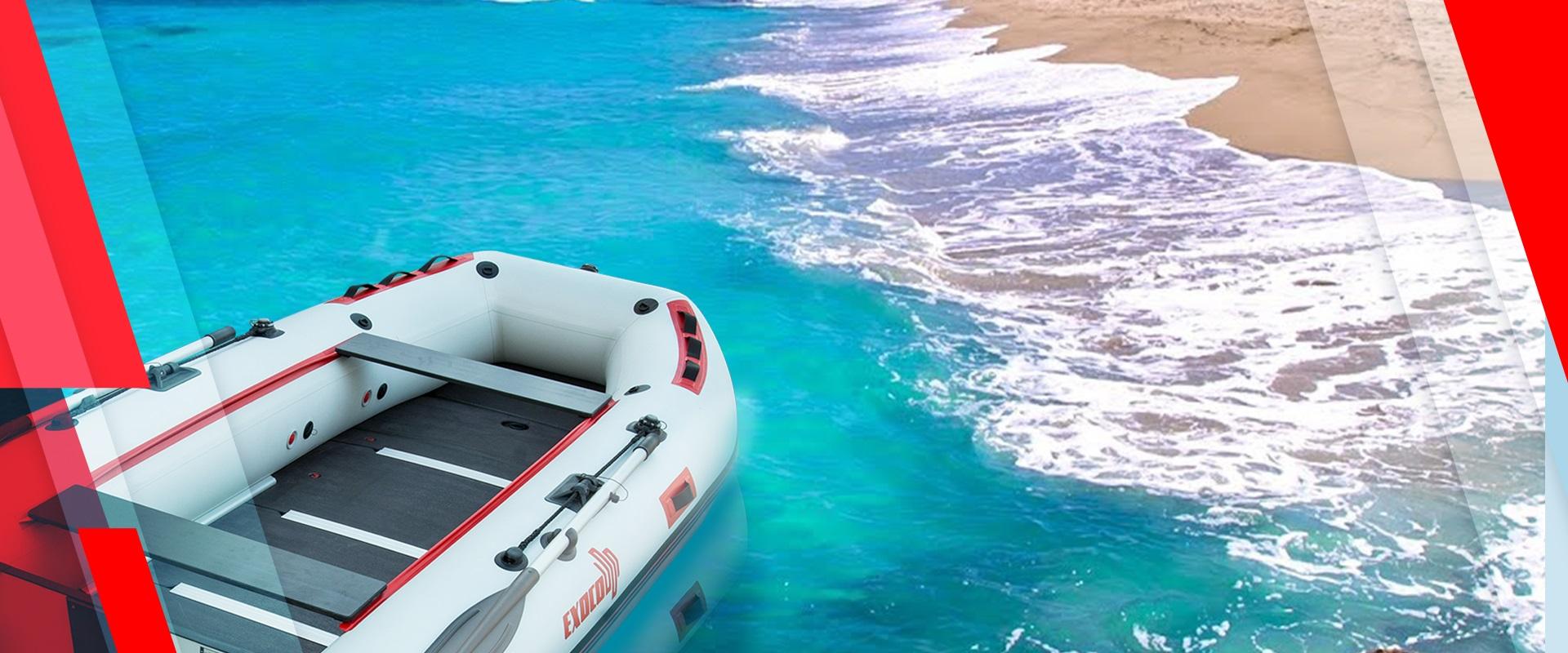 Exoco bateau pneumatique